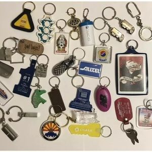 Accessories - Vintage Advertising Keychain Lot Shoes Vans Nb etc